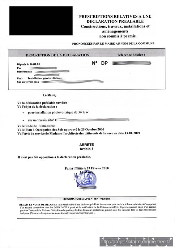 Modèle de lettre : Demande d'attestation de non contestation de la